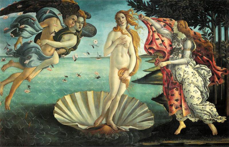 Vénus-Botticelli